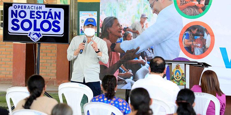El Bono de Emergencia fue creado por el Presidente Juan Orlando Hernández para apoyar a las personas afectadas por las tormentas tropicales.