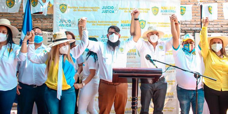 El Partido Anticorrupción (Pac), ungió como su candidato presidencial al ciudadano, Herman Isaías Zelaya.