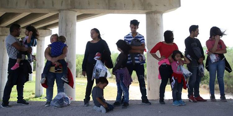 Del lado norteamericano el problema se ha agudizado por la cantidad de menores que se encuentran a la espera de la reunificación con familiares.
