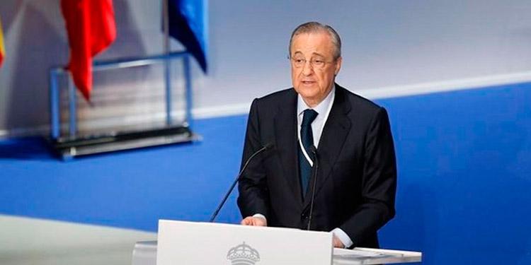 El presidente del Real Madrid es uno de los promotores de la Superliga.