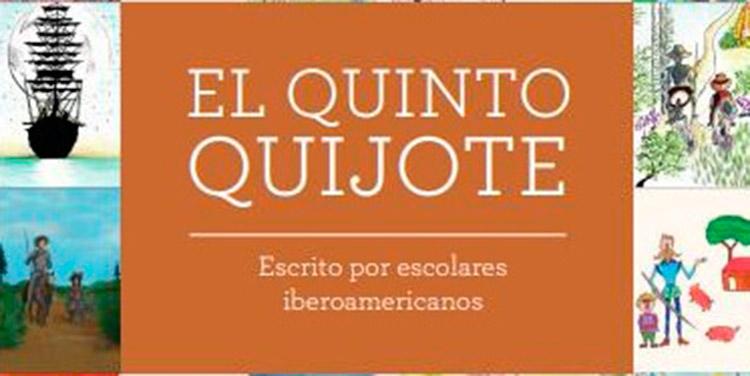 Cada capítulo de El Quinto Quijote fue escrito por escolares iberoamericanos, bajo la tutela de escritores y docentes.