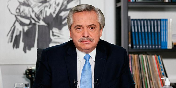Alberto Fernández. (LASSERFOTO AFP)