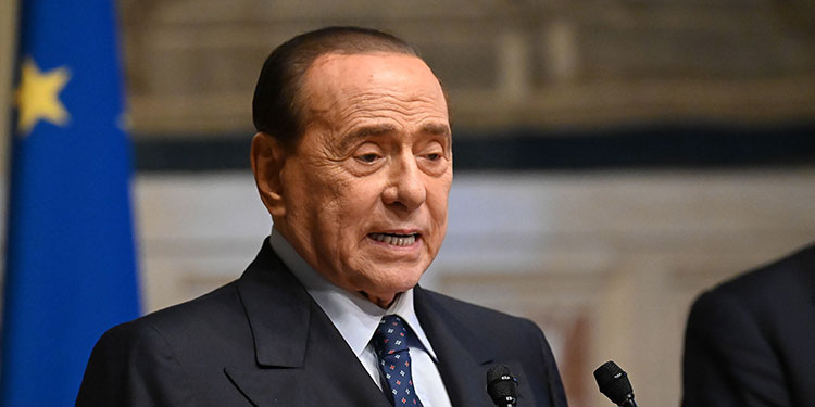 Silvio Berlusconi. (LASSERFOTO EFE)