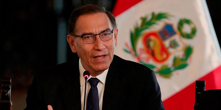 Martín Vizcarra. (LASSERFOTO EFE)