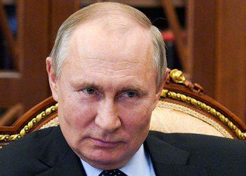 Vladimir Putin. (LASSERFOTO AP)