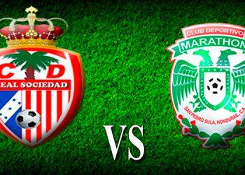 Final: Real Sociedad (1) Marathón (1)