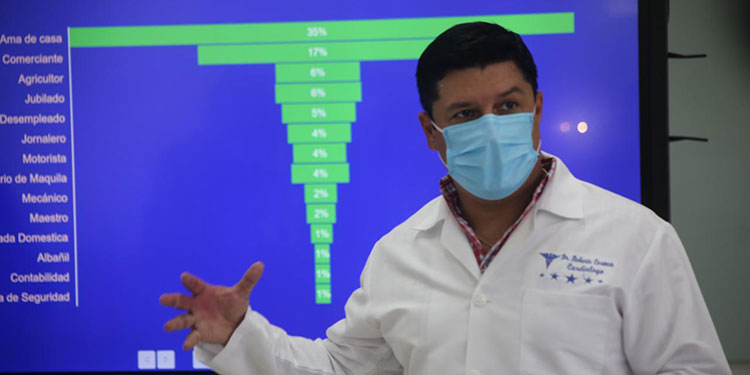 """San Pedro Sula. Luego de que las autoridades del Gobierno anunciaran la próxima llegada de más vacunas (Sputnik V y AstraZeneca), el viceministro de Salud, Roberto Cosenza, anunció que una vez que arriben las dosis serán distribuidas inmediatamente a las regiones sanitarias para continuar con la inmunización masiva. """"Las vacunas Sputnik V que lleguen al país el viernes serán distribuidas a las regiones sanitarias inmediatamente una vez aterricen en el territorio nacional para hacer esta inmunización masiva"""", destacó el viceministro Cosenza, encargado de la emergencia por COVID-19 en la zona norte. El funcionario se refirió al tema de las vacunas en la conferencia de prensa semanal donde se informa sobre la situación de la pandemia en el departamento de Cortés. Cosenza detalló que durante la semana epidemiológica #16, la cual concluyó el pasado sábado, se reflejó un leve ascenso de la positividad en casos de COVID-19 en Cortés, pero subrayó que, a pesar de las variaciones, las cifras se mantienen relativamente bajas. """"Estamos hablando de que esta semana se reportó un índice de positividad del 28% a comparación de un 21% respecto a la semana pasada, mostrando solo un ascenso del 7%"""", explicó el doctor Cosenza. """"Pese a que estos datos no han aumentado significativamente, no significa que nos hemos liberado de esta pandemia; nosotros continuamos luchando con las brigadas móviles, fortaleciendo estos triajes y hospitales, para tener capacidad de respuesta"""", agregó el funcionario. NUEVOS GRUPOS A INMUNIZAR La jefa de la Región Sanitaria Metropolitana de San Pedro Sula, Lesbia Villatoro, informó que para esta semana se tiene la notificación de que ingresarán 40,000 nuevas dosis de la vacuna Sputnik V y 189,000 de AstraZeneca el próximo 5 de mayo. """"Recordemos que la Región Metropolitana No. 20 sigue bajo los parámetros del Programa Ampliado de Inmunización (PAI) y es quien estará dando las indicaciones y capacitación para los próximos días para definir los grupos que serán """