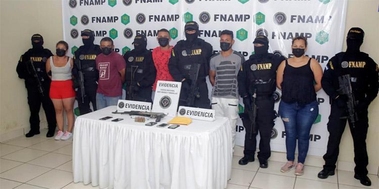 Las investigaciones de los cuerpos policiales y de inteligencia indican que los detenidos venían ejerciendo acciones relacionadas con extorsión y sicariato en esa zona de Olancho.
