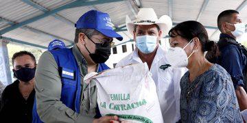 El programa Rescate Agrícola es una iniciativa del Presidente Juan Orlando Hernández, para apoyar a los productores.