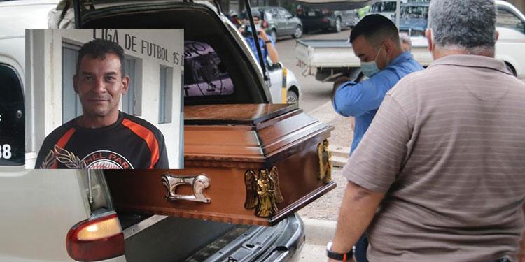 El cuerpo de David Rafael Banegas Ordóñez (foto), ayer mismo fue retirado de la morgue por sus parientes para darle cristiana sepultura en un cementerio de la capital.