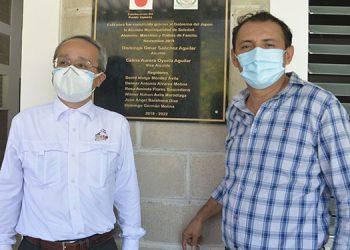 El gobierno de Japón aportó dos millones de lempiras para la reconstrucción total del instituto de Soledad.