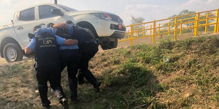 """En la persecución el cabecilla de la banda de """"Los Margaros"""" hirió a un agente policial."""