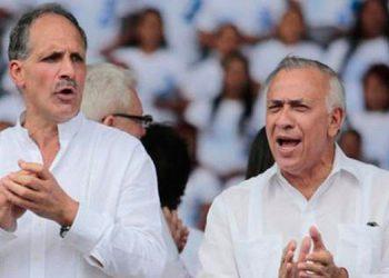"""""""Papi"""" y Oliva van de gira juntos."""