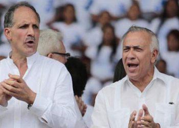 Nasry Asfura y Mauricio Oliva.