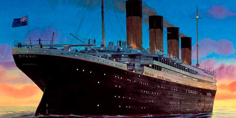 El Titanic. Majestuoso. Publicitado como el grande, lleno de lujos y seguridad de la época. Luce antes de su partida…hacia el naufragio…
