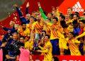 Barcelona golea al Athletic y se queda con la Copa del Rey