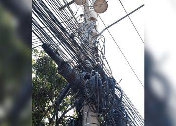 Solicitarán información de cada empresa de cable para verificar si pagan por usar los postes de la ENEE.
