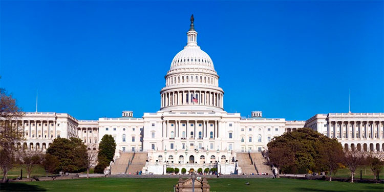 Estados Unidos: un hombre intentó chocar con su auto en el Capitolio