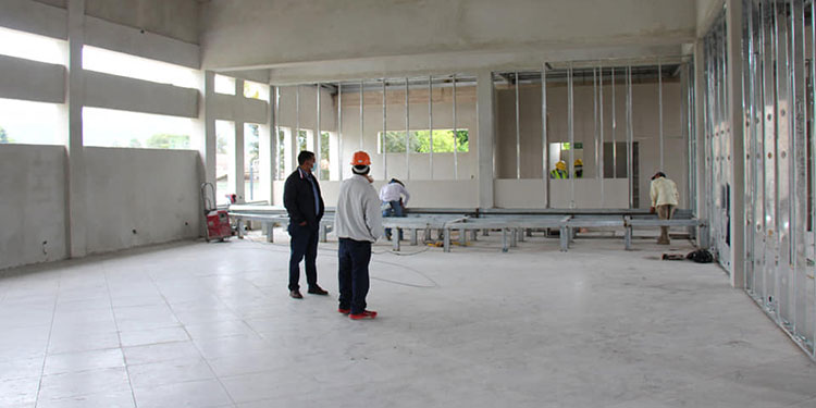 Los interiores de la obra cumplen con los estándares de calidad.