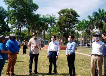 Supervisan construcción del Primer Centro de Innovación Tecnológica y Agrícola en Comayagua