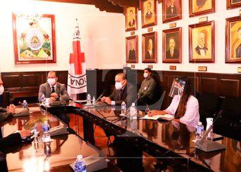 CN y Cruz Roja trabajan en aprobar anteproyecto por desplazamiento interno