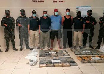 Decomisan 95 kilos de cocaína en embarcación «Tortuga» en el Caribe