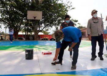 El proyecto está generando un movimiento social, ya que involucra a las comunidades para darle valor a las canchas deportivas del país.