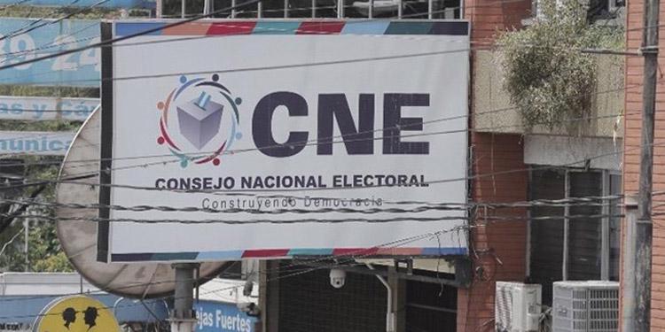Las alianzas deben inscribirse ante el CNE a más tardar el 28 de mayo.