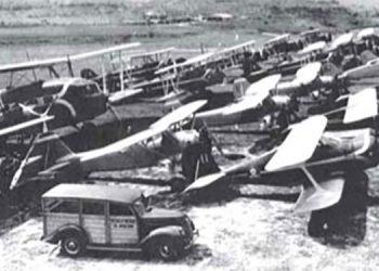 1 La Escuela Militar de Aviación de Honduras en el llano de Toncontín