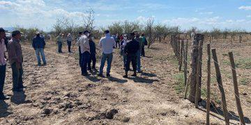 Diversos representantes de entes de gobierno y cuerpos de seguridad en compañía de Coddeffagolf y ganaderos, inspeccionaron el área protegida de El Jicarito.