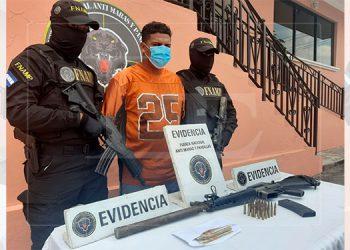 Capturan a coordinador de gatilleros y extorsión de la pandilla 18 en la capital