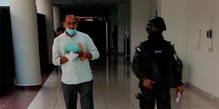 Marvin Izaguirre Castejón aceptó su culpabilidad en el delito de agresiones sexuales en perjuicio de dos menores.