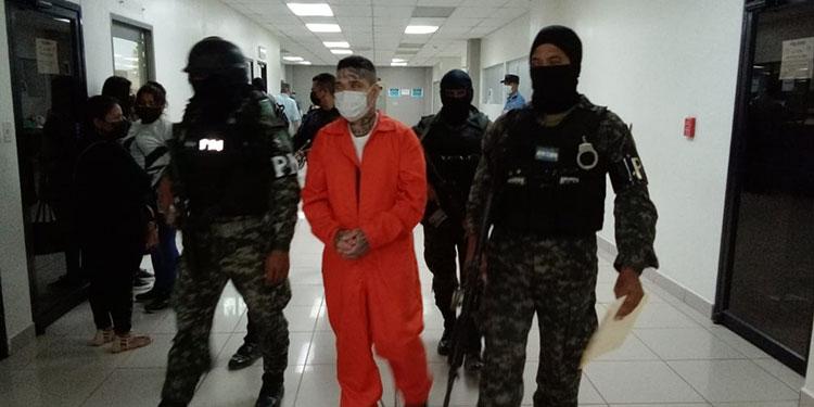 Carlos Alexis Maradiaga y Edi Alfonso Escobar aceptaron su responsabilidad de sus delitos.