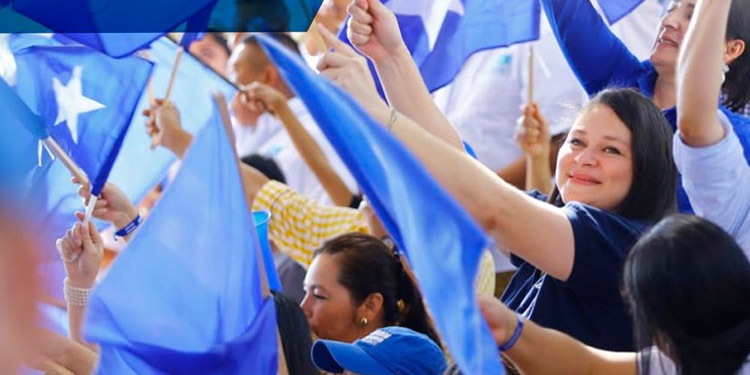 El órgano supremo del partido es la convención nacional conformada por 500 nacionalistas.