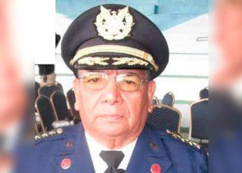 Roberto Rodríguez Borjas, excomandante general del Cuerpo de Bomberos de Honduras.