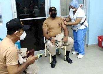 La próxima dosis de vacuna contra el COVID-19 será el 10 de julio al personal del Cuerpo de Bomberos.