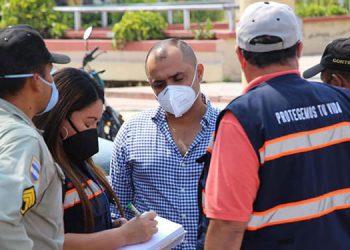 Representantes del Sistema Nacional de Emergencias (SNE) 911 y de instituciones de Siguatepeque, Comayagua, sostuvieron la reunión para delinear las acciones de seguridad ciudadana.