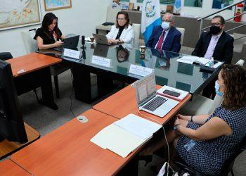 """Esta semana se impartió el primer seminario titulado, """"Camino hacia una red franco-centroamericana de experiencia cruzada sobre cambio climático""""."""