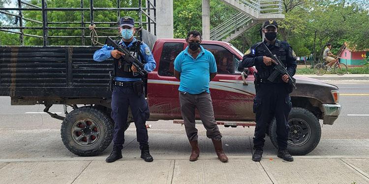 Autoridades policiales capturaron a Carlos Esteban Laínez Sánchez, por suponerlo responsable del delito de lavado de activos.
