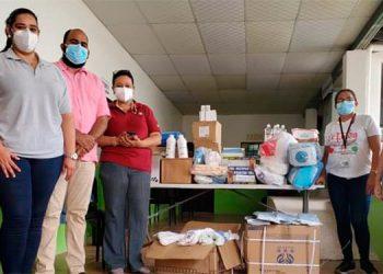 El diputado Rafael Sarmiento y autoridades del Hospital Hermano Pedro agradecieron a Cepudo por apoyar los centros asistenciales, como la clínica del diabético de Catacamas y también el Hospital San Francisco de Juticalpa.