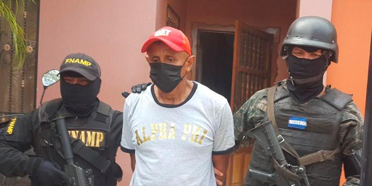 Marvin García Rodríguez fue remitido ante las autoridades judiciales por el delito de tráfico ilícito de drogas en perjuicio de la salud del Estado de Honduras.