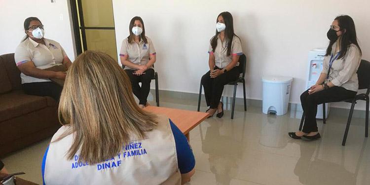El Programa Ciudad Mujer, coordina con la Dinaf el trabajo con adolescentes en las ciudades de Tegucigalpa, Choloma, San Pedro Sula, La Ceiba, Juticalpa y Choluteca.