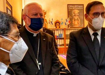 Las autoridades hondureñas buscan fortalecer las relaciones diplomáticas con el Vaticano.