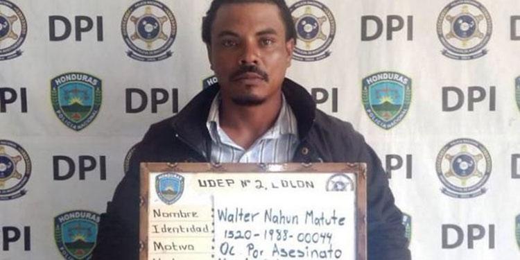 Walter Nahúm Matute Figueroa.
