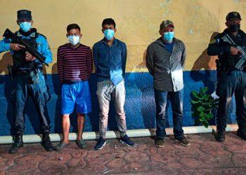Los tres hondureños fueron remitidos ante el MP por el delito de tráfico de personas.