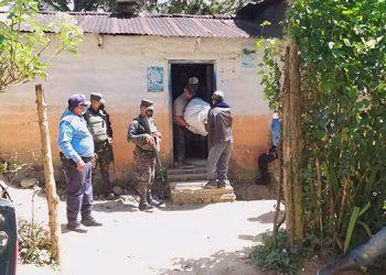 Triple asesinato en El Paraíso, en que fue ultimada Griselda Julissa Rosales Pastrana.