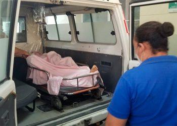 """Edgar Otoniel Meza Flores fue trasladado gravemente herido al Hospital """"Gabriela Alvarado"""", de Danlí."""