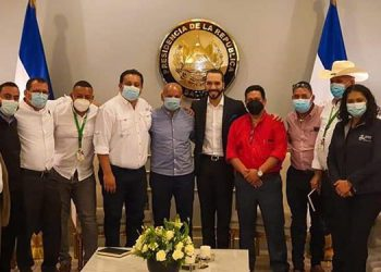 Los alcaldes agradecieron al gobierno y a la población salvadoreña, por su contribución con sus hermanos hondureños.