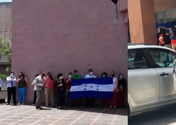 Por más de cinco días, los empleados del MP se han manifestado en las afueras de las instalaciones, por concepto del aumento.