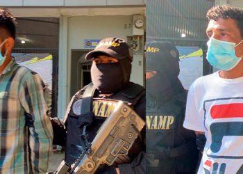 Marco Alcerro Antúnez y Carlos Ventura López fueron capturados el 24 de febrero de este año, al igual que 11 más van a juicio.